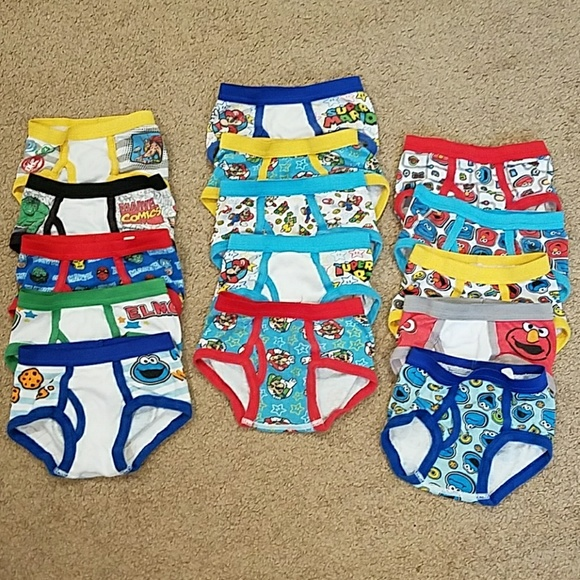 9322632a9ed4 Marvel Accessories | Huge Lot Bundle Of 2t3t Boys Underwear Briefs ...